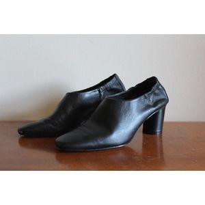 Miista Black Minimalist Heels